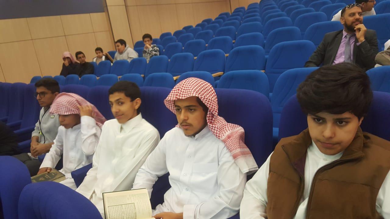 اشتراك ثانوسة الرواد في مسابقة القرآن الكريم