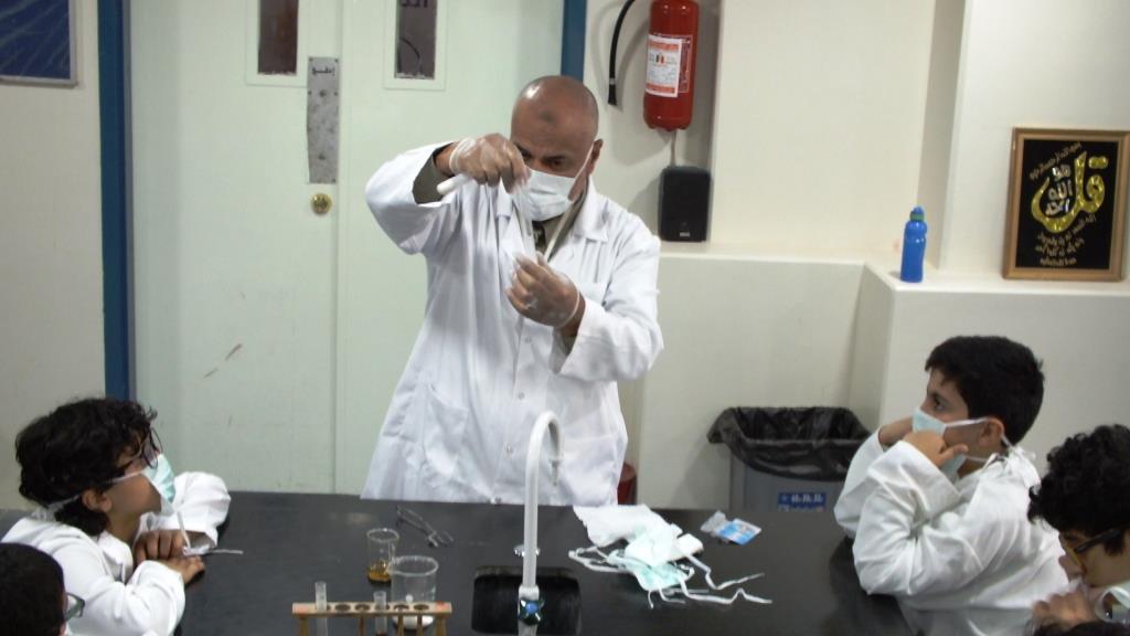 أسبوع الكيمياء  العربي بالمرحلة العليا