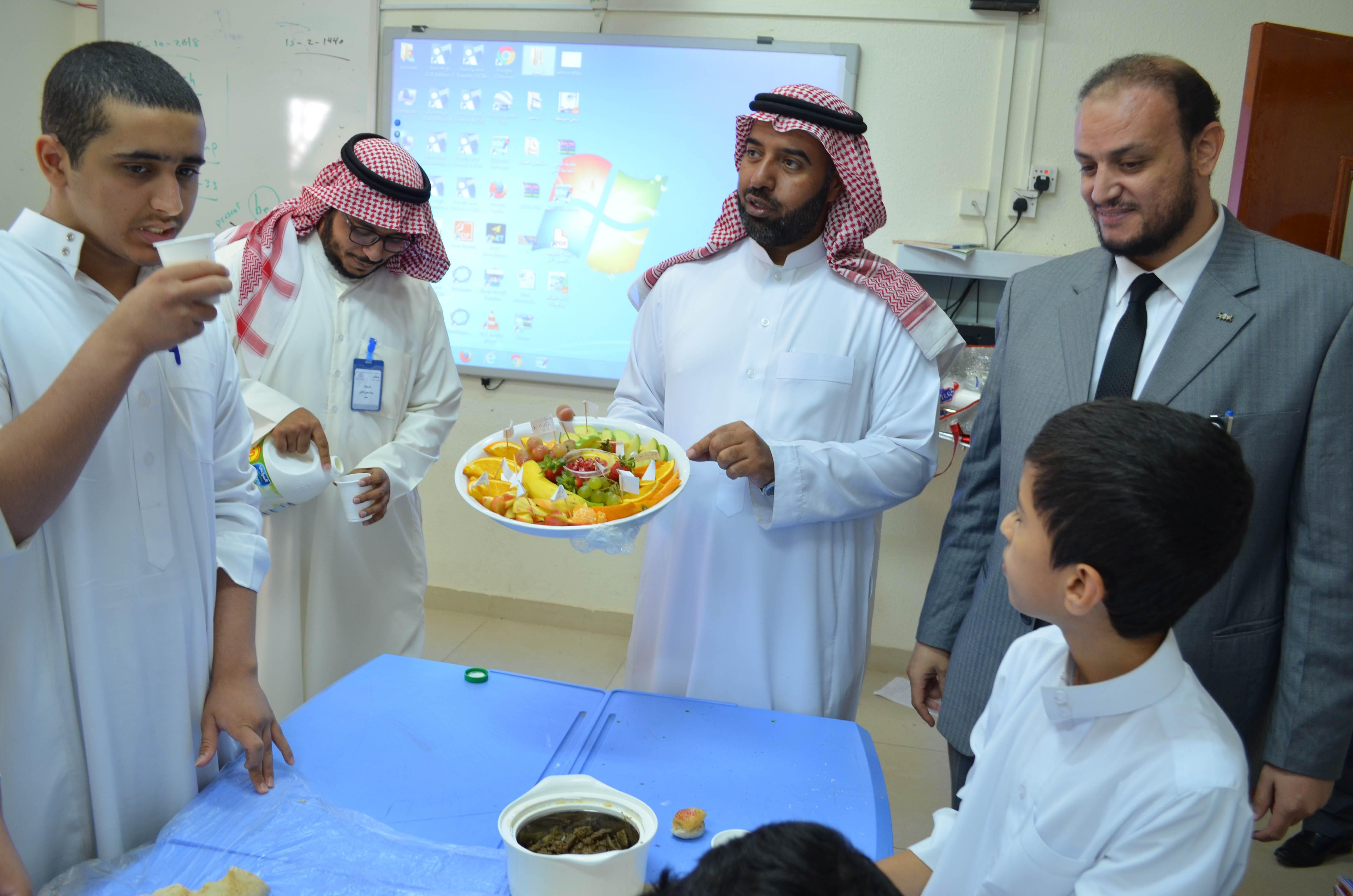 حفل افطار جماعي صحي بالمدرسة