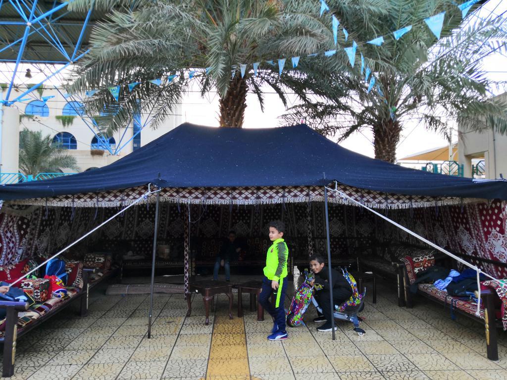 الخيمة الشتوية